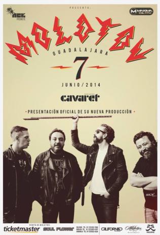 Flyer: Molotov 7 de Junio
