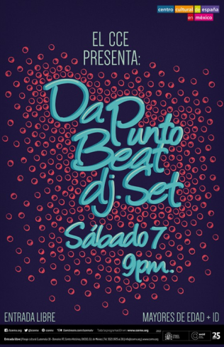 Flyer: Da Punto Beat 7 de Junio