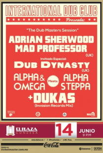 "Flyer: ""The Dub Mosters Session"""