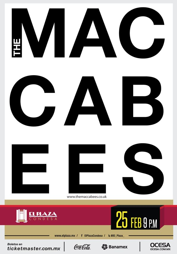 THE MACABEES TYPO
