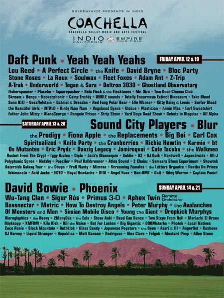 cartel falso coachella-2013