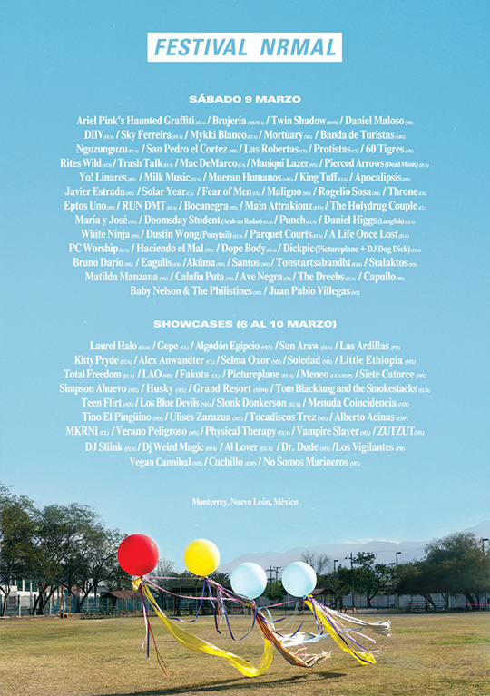 Cartel Festival Nrmal 2013