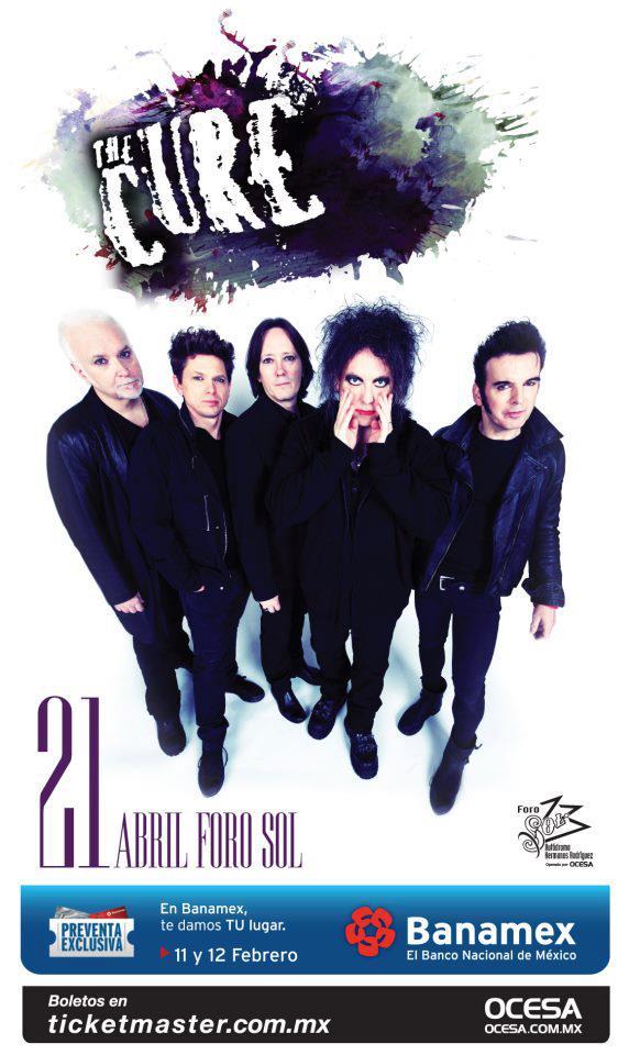 The Cure en el Foro Sol 2013