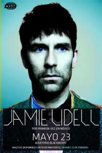 Flyer: Jamie Lidell en el Auditorio Blackberry