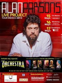 Flyer: Alan Persons Project en el Auditorio Blackberry