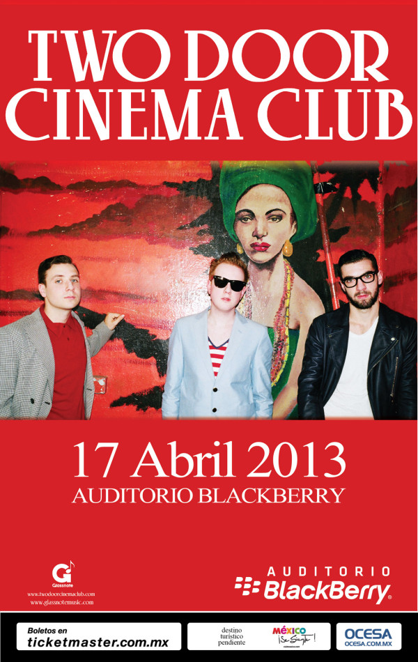 Two Door Ciema Club flyer