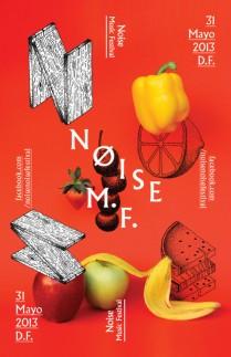 Flyer: Noise Music Festival 2013 Ciudad de México