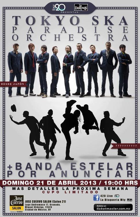 Tokio Ska Paradise Orchestra Mexico