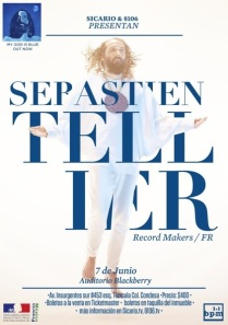 Flyer: Sebastien Tellier en el Auditorio Blackberry