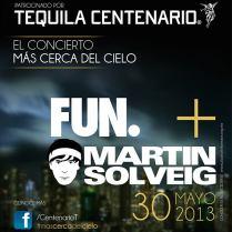 Flyer: Fun y Martin Solveig en México